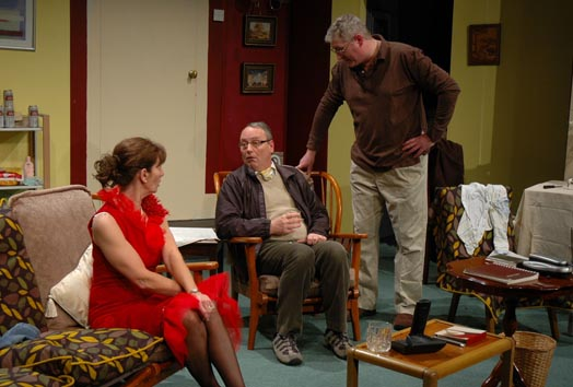 The Clarence Players' production 'How The Other Half Loves', 2009.