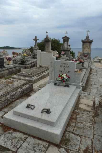 Graveyard at Ricic Family Mausoleum