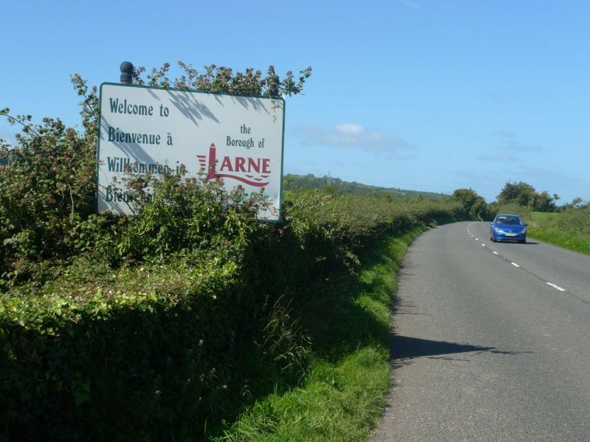 Larne — Carrickfergus Boundary