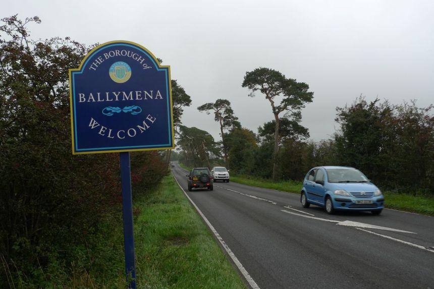 Ballymena — Ballymoney Boundary
