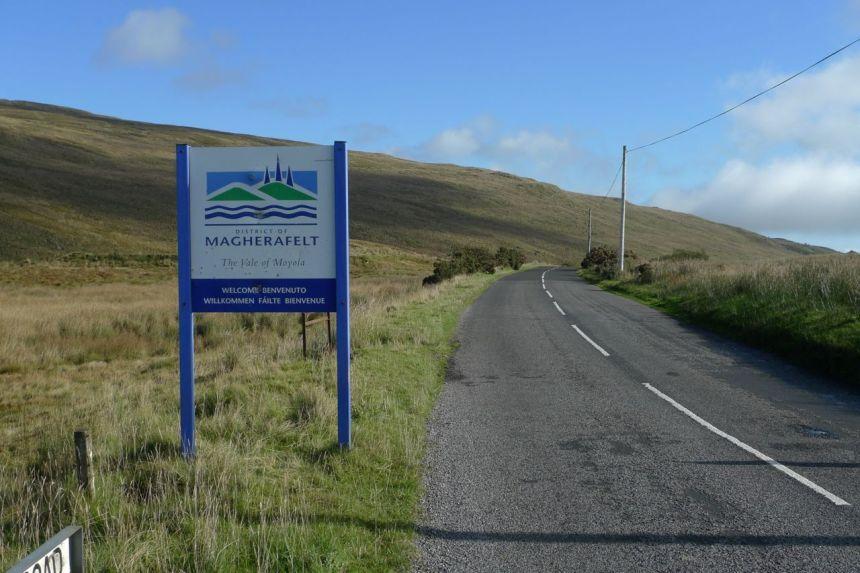 Magherafelt — Strabane Boundary