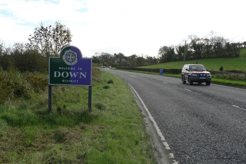 Down — City of Lisburn Boundary