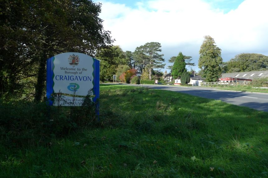 Craigavon — Banbridge Boundary
