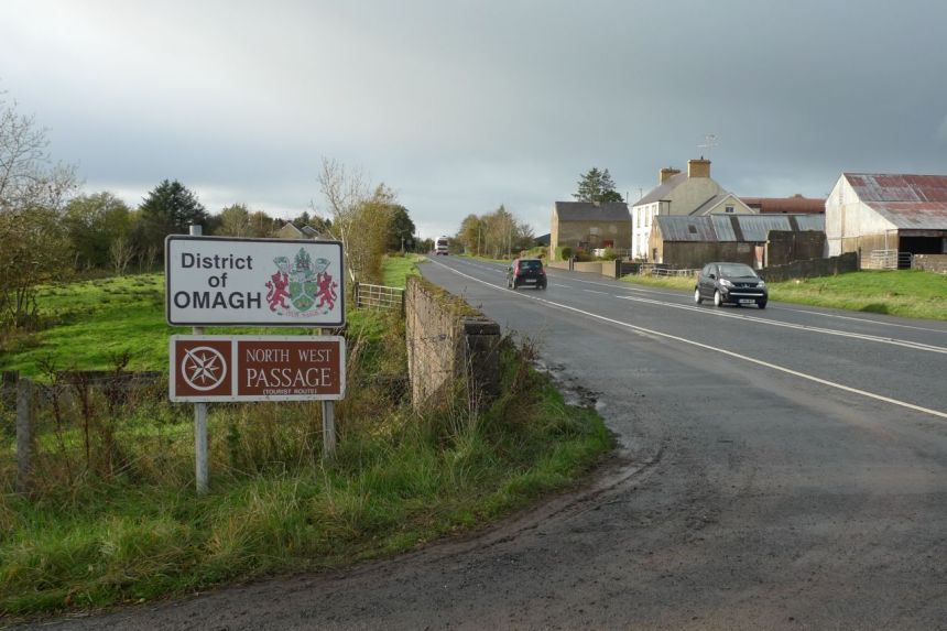 Omagh District — Dungannon and South Tyrone Boundary