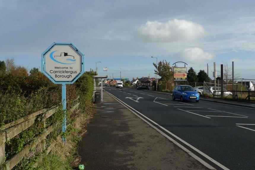 Carrickfergus — Newtownabbey Boundary