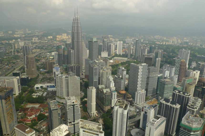 Kuala Lumpur from KL Tower