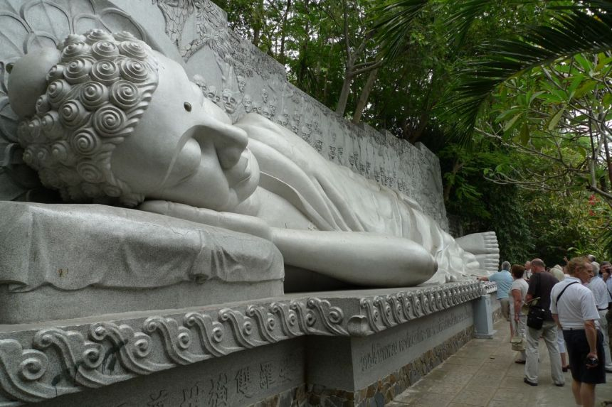 Sleeping Buddha, Long Son Pagoda, Nha Trang