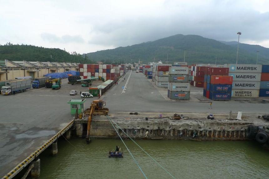 Port of Da Nang, Vietnam