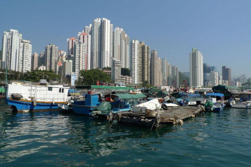 Aberdeen Harbour, Hong Kong Island