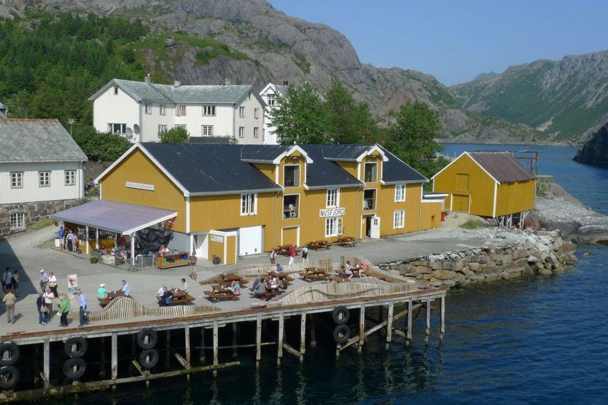 Nusfjord Fishing Village