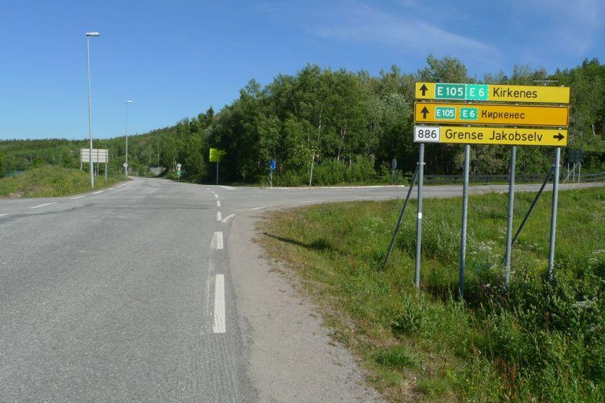 Near Norwegian/Russian Border