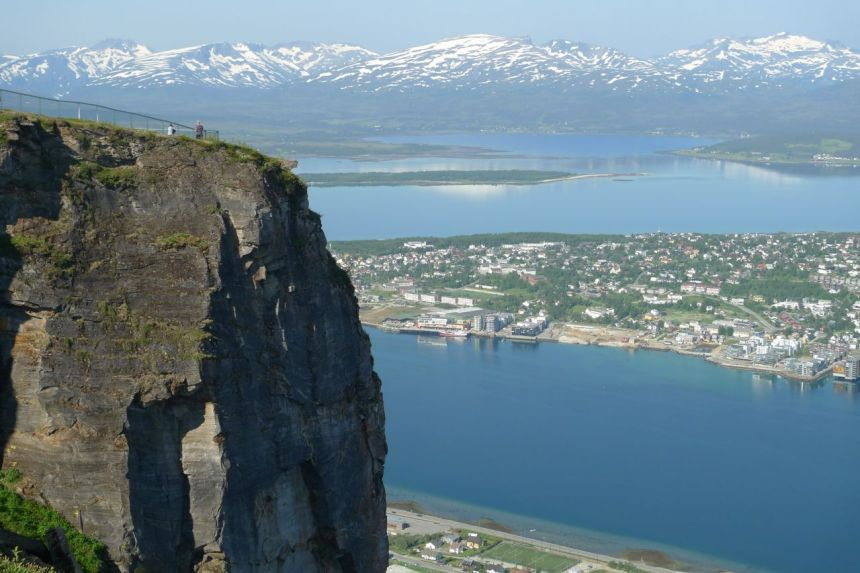 Tromso from Storsteinen
