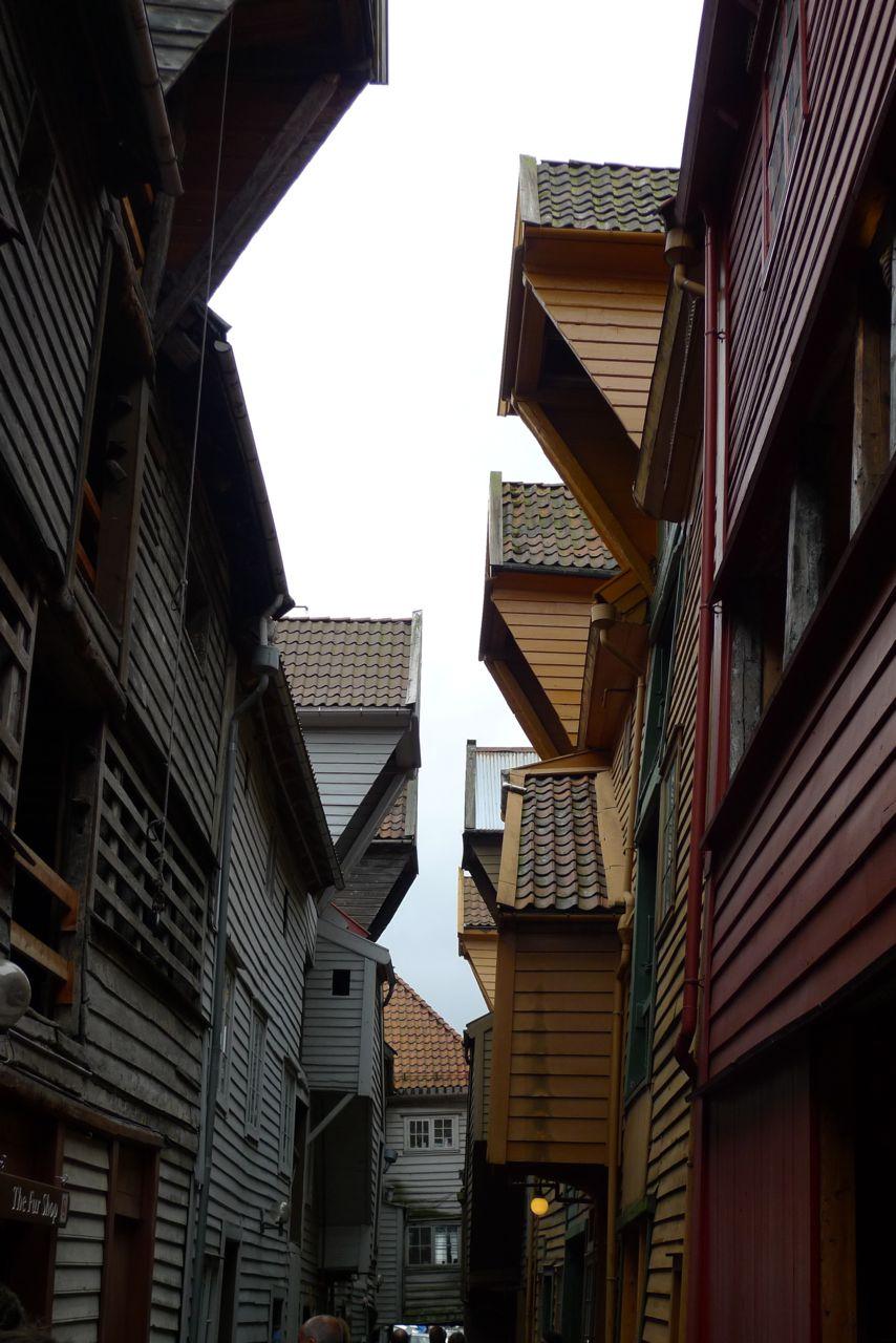 Bergen, Old Town