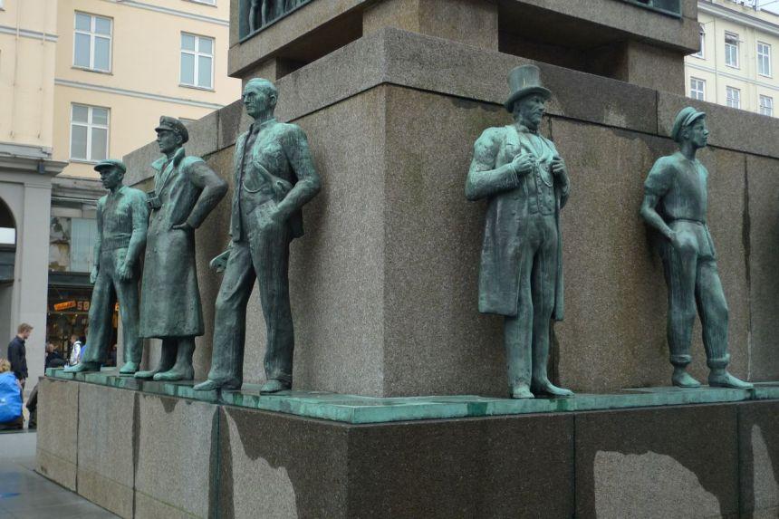 Seamen's Monument, Bergen