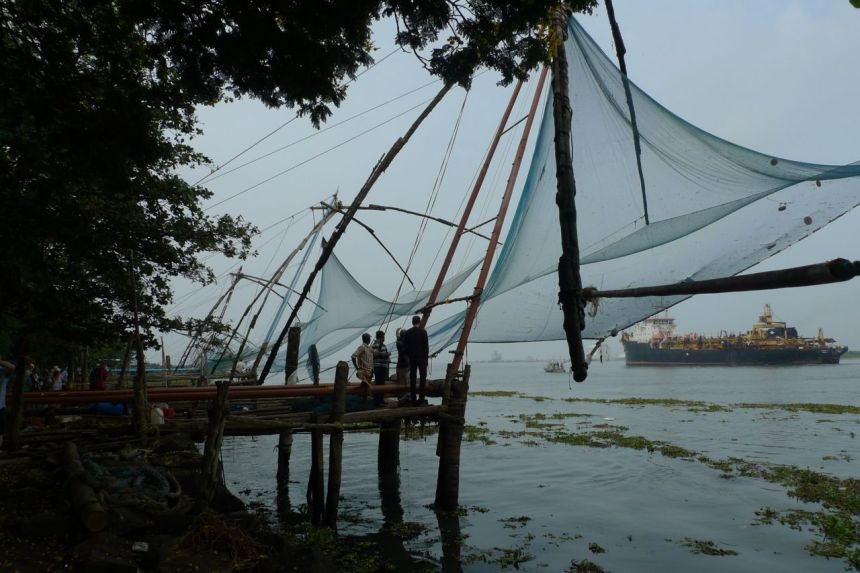 Chinese fishing nets (Cheenavala), Cochin