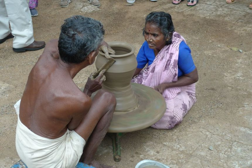 Pottery, near Tuticorin