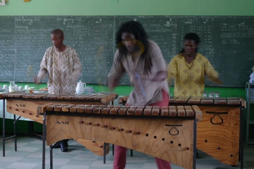 Marimba Band, Port Elizabeth, SA