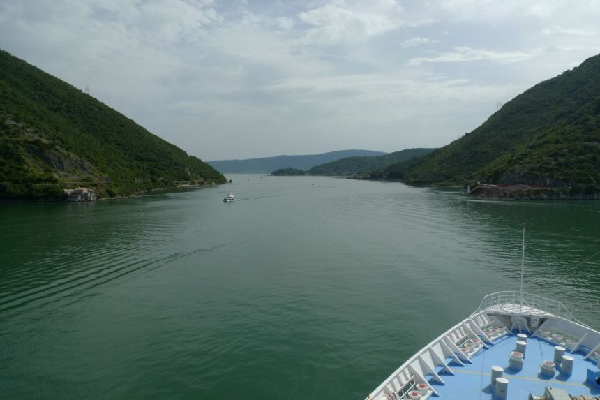 Leaving Montenegro